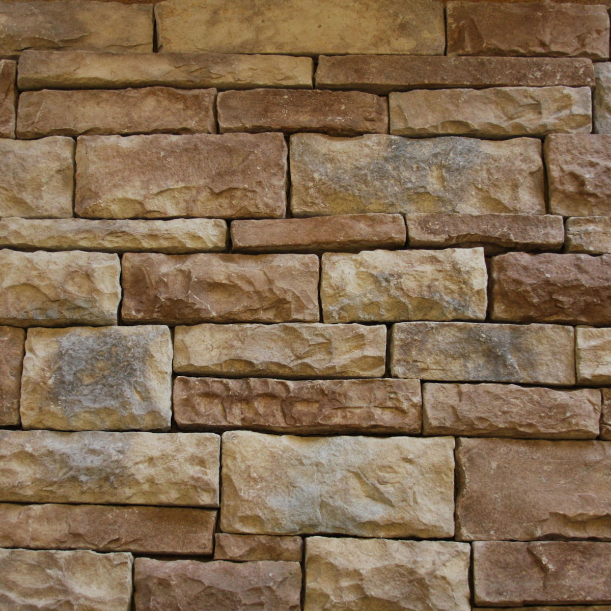 Rubble stone sample board native custom stone for Chattahoochee tech interior design