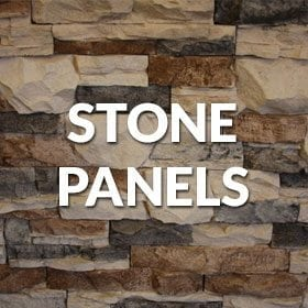 manufactured stone panels